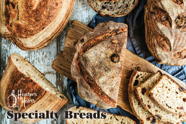 Heather's Hearth Specialty Breads